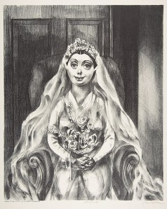 The Bride Ben Hoffman Abramowitz (American, born Brooklyn, New York 1917)